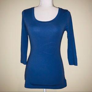 Cynthia Rowley 3/4 Sleeve T-Shirt